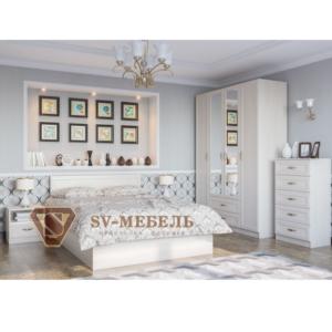Спальня Вега Сосна карелия