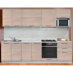 Кухня Престиж со шкафом под микроволновую печь 2200