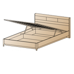 Кровать КР-1862 (1,4х2,0)
