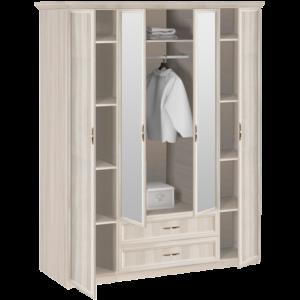 7.16 Шкаф 4-х дверный с зеркалом 1740х2420х572