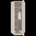 8.05 Шкаф угловой для одежды 770х2380х770