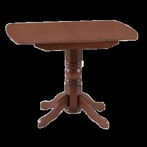 Стол обеденный раздвижной овальная крышка массив 1400x770