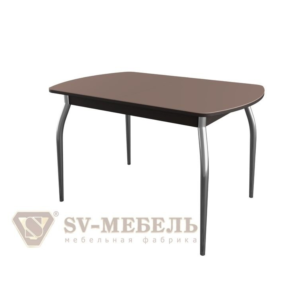 Стол-рабочий (обеденный раздвижной № 1) Дуб Венге/Шоколад