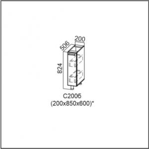 ФП 600 Фасад для посудомоечной машины 600 Лен