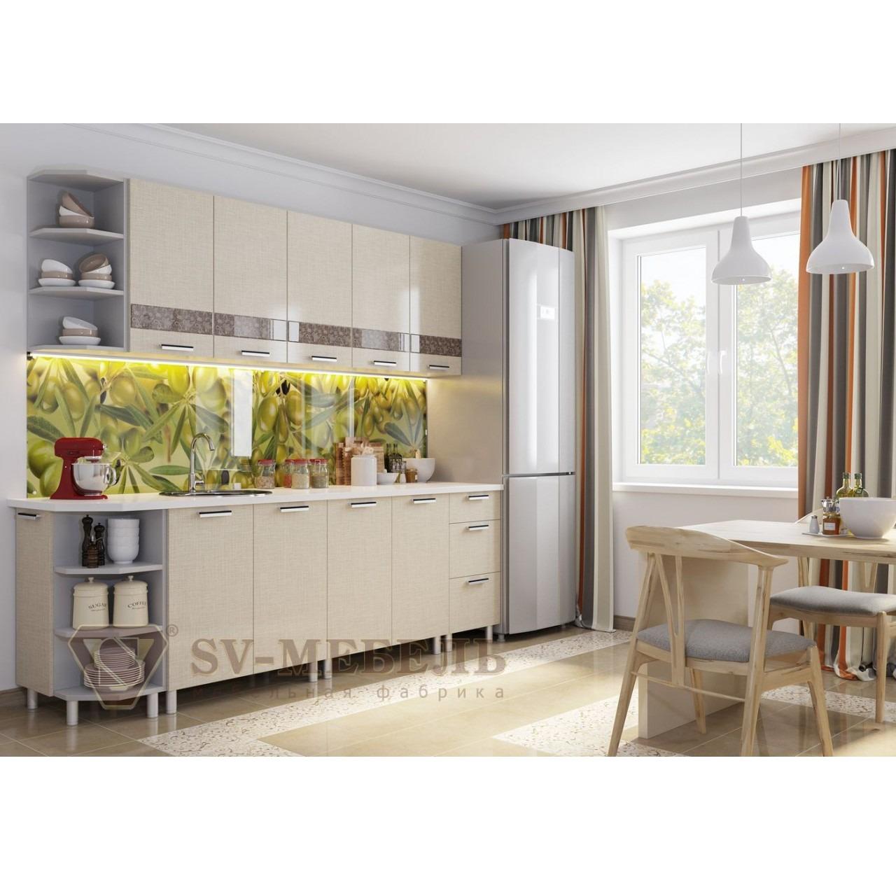 SV кухня лен
