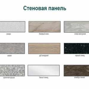 Стеновая панель Боровичи-Мебель, 3000*600