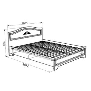 Белла Кровать 1.6 * (комфорт)