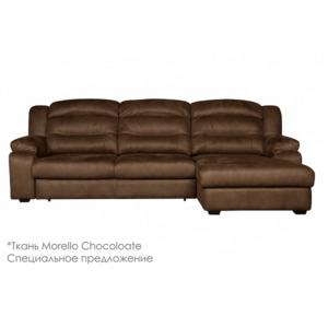 Диван Денвер с канапе Morello Chocolate